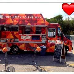 Photo taken at Zoca: Taco + Burrito Truck by TJ K on 5/27/2012