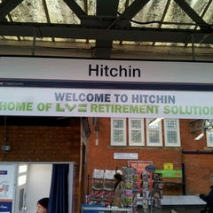 Photo taken at Hitchin Railway Station (HIT) by Gordon C. on 11/19/2011