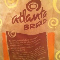 Photo taken at Atlanta Bread Company by Albert M. on 6/7/2011