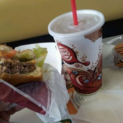 Photo taken at Burger King® by Aurelio T. on 1/31/2012