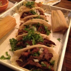 Photo taken at The Taco Shop by Andrea G. on 8/26/2012