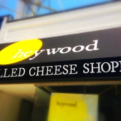 Photo taken at Heywood - A Grilled Cheese Shoppe by Jamie B. on 5/20/2012