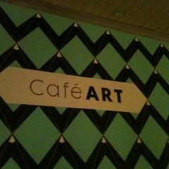 Photo taken at Café ART by Helen on 5/4/2012