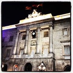 Photo taken at Ajuntament de Barcelona by Cagdas Y. on 8/26/2012
