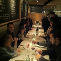 Photo taken at Le Steak Frites St-Paul by Angelito L. on 12/25/2010