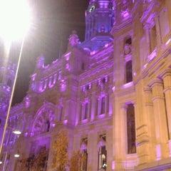Photo taken at Palacio de Cibeles by Jesus A. on 12/20/2011