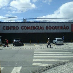 Photo taken at Super Centro Comercial Boqueirão by Carlos B. on 9/26/2011