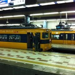 Photo taken at 大阪上本町駅 (Osaka-Uehommachi Sta.) by motoari E. on 3/30/2012