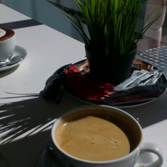 Photo taken at The little Coffee Company by Bethan H. on 4/1/2012