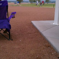 Photo taken at Rancho Del Sol Park by Lizette P. on 8/14/2011
