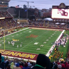 Photo taken at TCF Bank Stadium by Ken E. on 11/26/2011