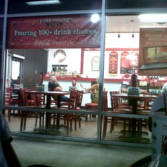 Photo taken at Firehouse Subs by Rachel P. on 8/26/2012