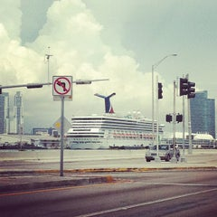 Photo taken at Port Of Miami - Carnival Cruise by Tristan E. on 7/9/2012
