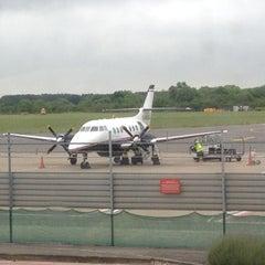 Photo taken at Southampton Airport (SOU) by Gary W. on 6/1/2012