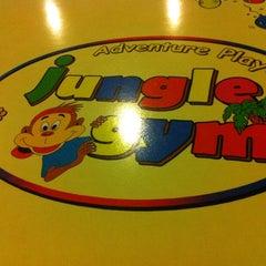 Photo taken at Jungle Gym Kiulap by Venus A. on 4/6/2012
