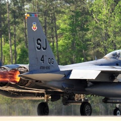 Photo taken at Seymour Johnson AFB by John M. on 4/17/2012