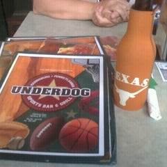 Photo taken at Underdog's by Christy C. on 8/13/2011