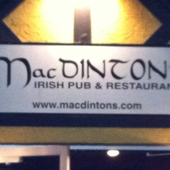 Photo taken at MacDinton's Irish Pub & Restaurant by James Daniel B. on 1/16/2011