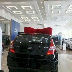 Photo taken at Hyundai Caoa by Adriana T. on 1/18/2012