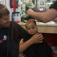 Photo taken at SportClips by Genevieve M. on 8/28/2011