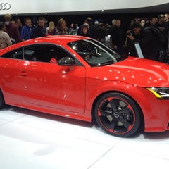 Photo taken at Audi Stand at Detroit Auto Show by Joseph I. on 1/21/2012