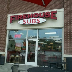 Photo taken at Firehouse Subs by Nicole P. on 8/18/2011