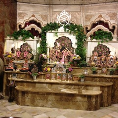Photo taken at ISKCON by Harsha J. on 1/17/2012