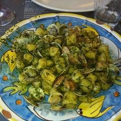 Photo taken at Kalamaro Fritto d'Osteria by Greta F. on 9/7/2011