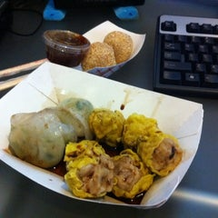 Photo taken at The DimSum Truck by Henry J. on 2/21/2011