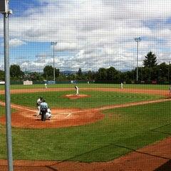 Das Foto wurde bei Mainz Athletics Ballpark von Stefan S. am 7/14/2012 aufgenommen