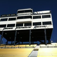 Photo taken at Phoenix International Raceway by Denise D. on 3/1/2012