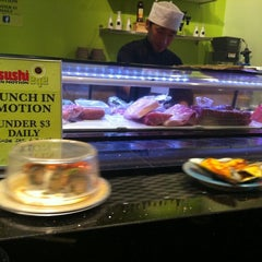 Photo taken at Sushi Eye in Motion by Andy S. on 9/4/2011