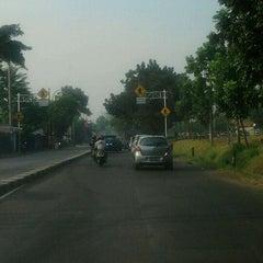 Photo taken at Jalan Raya Lenteng Agung by Dandun W. on 10/11/2011