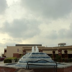 Photo taken at Fluor Fountain by Isaac S. on 1/7/2011