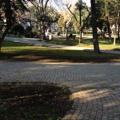 Photo taken at Doğancılar Parkı by Oktay K. on 2/20/2012