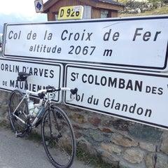 Photo taken at Col De La Croix De Fer by James on 7/26/2012