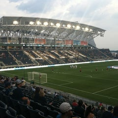 Photo taken at PPL Park by Shannon P. on 8/24/2012