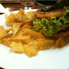 Photo taken at Semi Yakitori Bar by Fabio H. on 11/27/2011