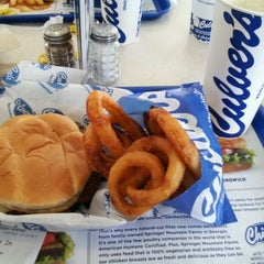 Photo taken at Culver's by Jason C. on 9/29/2011