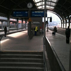 Photo taken at Hagen Hauptbahnhof by Jana E. on 1/18/2012