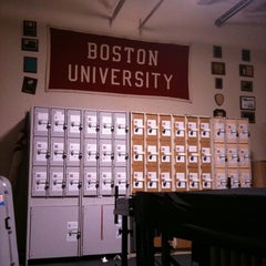 Photo taken at BU Band Room by Christina F. on 3/7/2011