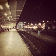 Photo taken at สถานีรถไฟศรีสะเกษ (Sisaket) SRT2273 by Worakarn C. on 4/24/2012