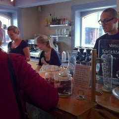 Photo taken at Lilla Kafferosteriet by David S. on 10/2/2011