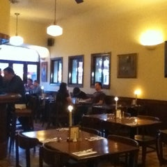 Photo taken at Cafe Luxy by Leonardo S. on 5/2/2012