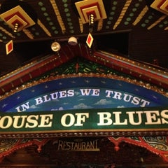 Photo taken at House of Blues by Kevin M. on 6/24/2012