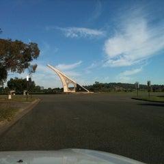 Photo taken at World's Biggest Sundial by Hicksamunga on 5/7/2011