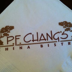 Photo taken at P.F. Chang's by Ari D. on 7/20/2012
