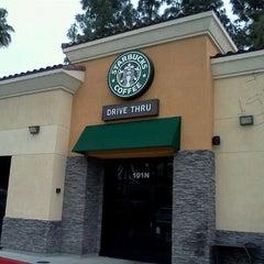 Photo taken at Starbucks by Charissa G. on 3/29/2012