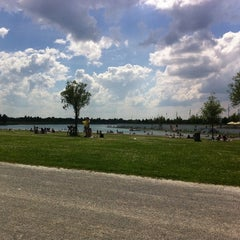 Photo taken at Riemer See by Dominic B. on 6/4/2011