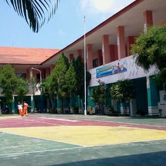 Photo taken at SMK Telkom Sandhy Putra Malang by Hedwig G. on 4/13/2012